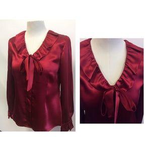 Alfani Bow tie blouse